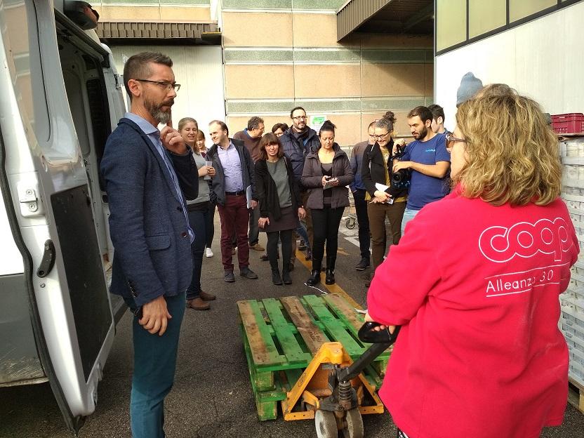 Visita amb el projecte EcoWaste4Food a Ferrara