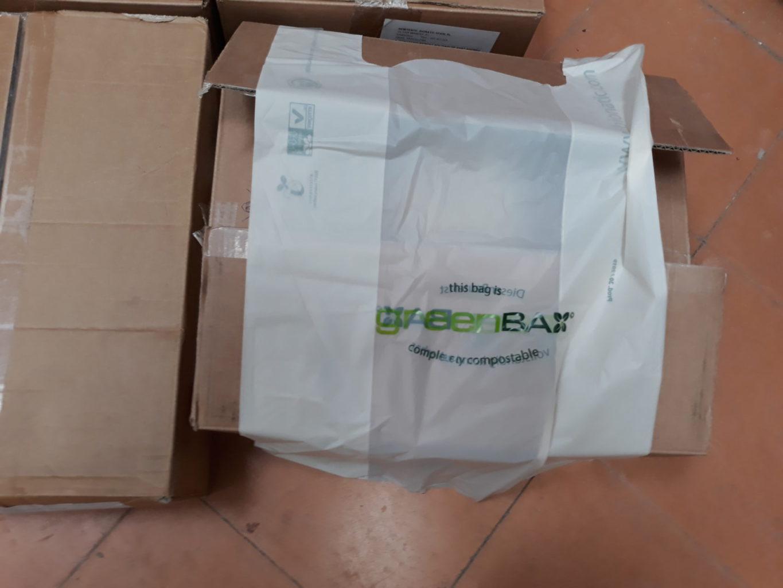 Donació de bosses biodegradables