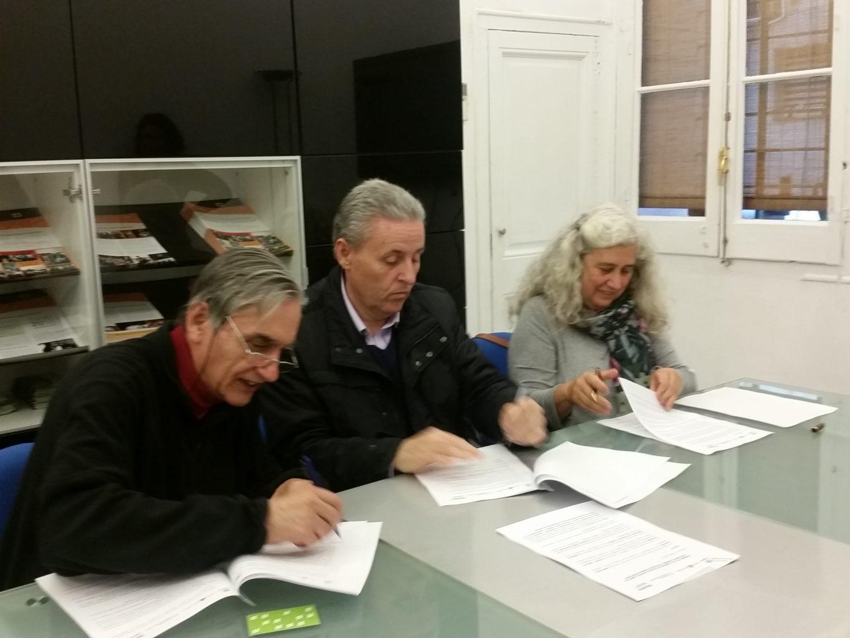 Signem conveni amb l'Associació Egueiro