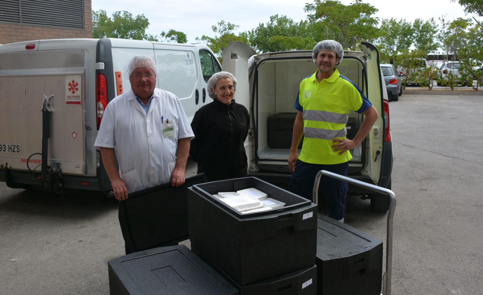 Pont Alimentari i l'Hospital Germans Trias inicien un projecte de donació d'excedents alimentaris